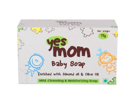 Yes Mom Baby Soap 75Gm