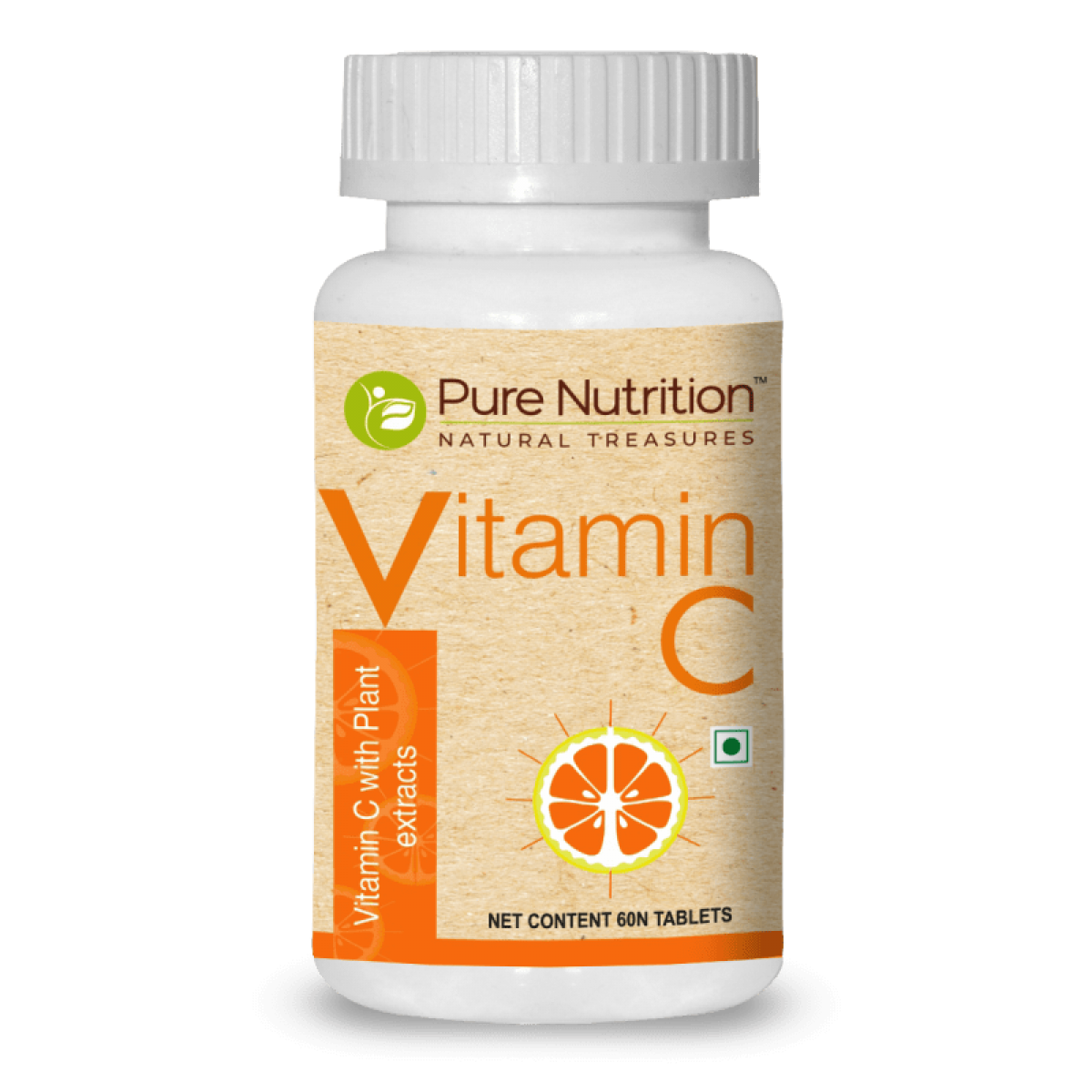 Pure Nutrition Vitamin C Tablet 60S