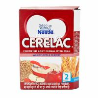 Cerelac Stage 2 Wheat Apple Cherry Refill  300Gm
