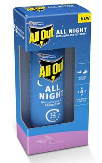 All Out All Night Mosquito And Fly Protection 15Ml